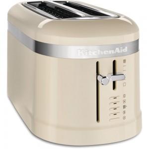 KitchenAid 2-Scheiben Langschlitz-Toaster crème 5KMT5115EAC
