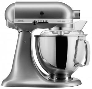 KitchenAid Artisan Küchenmaschine Kontur-Silber 5KSM175PSECU