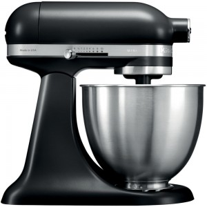 KitchenAid Mini Küchenmaschine 3.3 L Matte Black 5KSM3311XEB