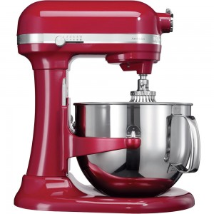 KitchenAid Artisan Küchenmaschine mit Schüsselheber Empire-Rot 5KSM7580XEER