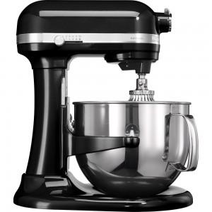 KitchenAid Artisan Küchenmaschine mit Schüsselheber Onyx Schwarz 5KSM7580XEOB