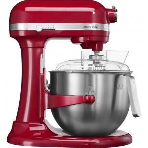 KitchenAid Heavy Duty Küchenmaschine mit Schüsselheber Empire Rot 5KSM7591XEER