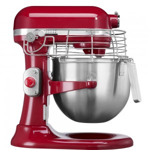 KitchenAid Professional Küchenmaschine mit Schüsselheber Empire Rot 5KSM7990XEER
