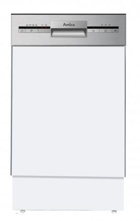 Amica Einbau-Geschirrspüler integriert 45cm Edelstahl  A+ EGSP14695E