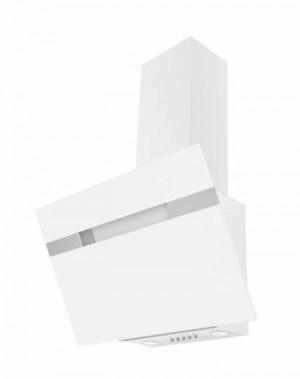Amica Kopffrei-Haube 60cm Glasschirm Weiß KH17404W