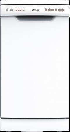 Amica Geschirrspüler Stand 45 cm weiß GSP 14544 W
