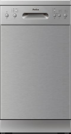 Amica Geschirrspüler Stand 45 cm  Edelstahlfront GSP 14844 E