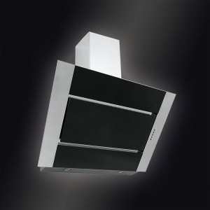 Baumann Wandhaube Perfetta 90 schwarz Dunstabzugshaube