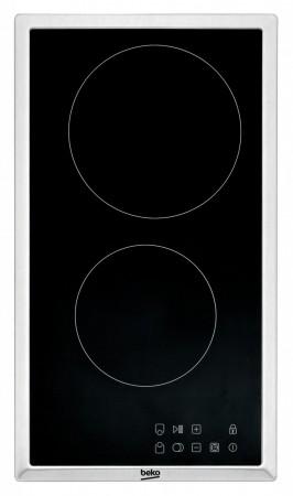 Beko Autarkes Glaskeramik-Kochfeld mit einem Edelstahlrahmen HDMC 32400 TX