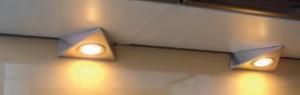 Benny Dreiecksleuchten-Set mit Zentralschalter 3-fach
