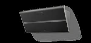 Berbel Kopffreihaube Smartline BKH 80 ST S U schwarz umluft 1040111 inkl. 5 Jahre Garantie
