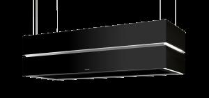 Berbel Deckenlifthaube Skyline Edge BDL 135 SKE schwarz 135 cm 1050042 5 Jahre Garantie