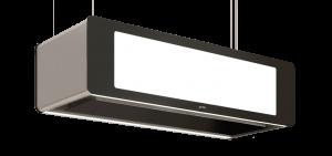 Berbel Deckenlifthaube Skyline BDL 95 SK schwarz 95 cm 1050004 5 Jahre Garantie