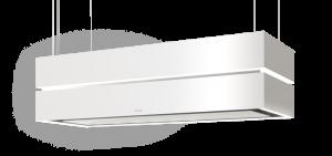 Berbel Deckenlifthaube Skyline Edge Sound BDL 135 SKE-S weiß 1050177  inkl. 5 Jahre Garantie