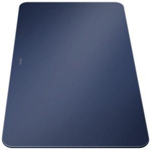 Blanco Glasschneidebrett Nachtblau samtmatt 232846