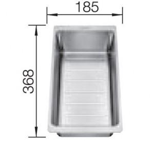 Blanco Multifunktionsschale Edelstahl 233739