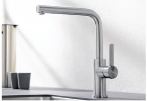 Blanco LANORA Armatur Einhebelmischer Hochdruck metallische Oberfläche 523122