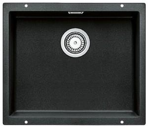 BLANCO SUBLINE 500-U Granitspüle aus SILGRANIT® PuraDur® anthrazit  523432