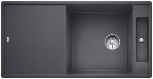 Blanco Granitspüle aus SILGRANIT® PuraDur®  AXIA III XL 6 S-F reversibel felsgrau 523527