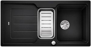 BLANCO Granitspüle aus SILGRANIT® PuraDur®  CLASSIC Neo 6 S reversibel anthrazit 524117