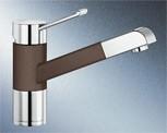 Blanco Blancozenos-S SILGRANIT cafe/chrom HD 517827