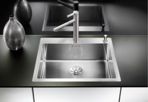 Blanco Spüle CLARON 550-IF/A Edelstahl 521639