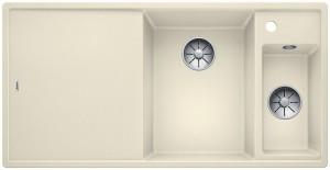 Blanco Silgranitspüle PuraDur® AXIA III 6 S-F Becken rechts jasmin 523493
