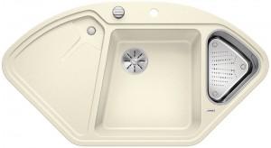 Blanco Silgranitspüle PuraDur® BLANCODELTA II-F jasmin 523674