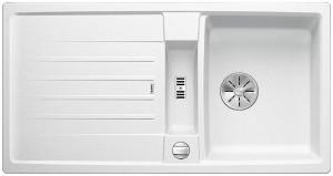 Blanco Spüle LEXA 45 S SILGRANIT® PuraDur® reversibel weiß 524924
