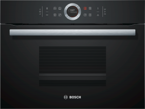 Bosch Kompakt-Dampfgarer Schwarz CDG634AB0