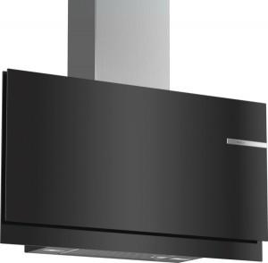 Bosch Wandesse 90cm schwarz Flach-Design DWF97KM60