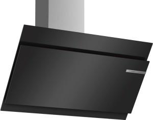 Bosch Wandesse 90cm schwarz Schräg-Essen-Design DWK97JM60