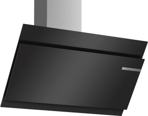 Bosch Wandesse 90cm schwarz Schräg-Essen-Design DWK97JQ60