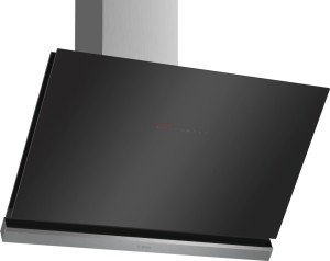 Bosch Wandesse 90cm schwarz Schräg-Essen-Design DWK98PP60