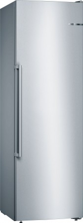 Bosch Stand Gefrierschrank Türen Edelstahl mit Anti-Fingerprint NoFrost GSN36AI4P