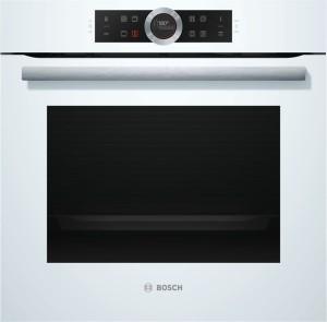 Bosch Einbaubackofen Weiß HBG675BW1