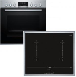 Bosch Herdset HND617LS60 best aus: HEA5174S1 + NVQ645CB5E