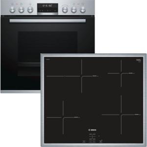 Bosch Herdset HND675LS65 best. aus: NIF645CB1E + HEB578BS1