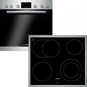 Bosch Herdset HND72PS50 bestehend aus: HEG73U150  NKN645G17