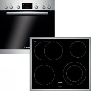 Bosch Herdset HND72PS55 bestehend aus:  HEB73D150 NKN645G17 EEK: