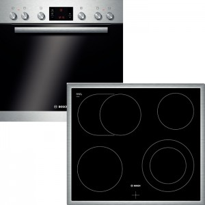B-Ware Bosch Herdset HND72PS55 bestehend aus:  HEB73D150 NKN645G17 EEK:
