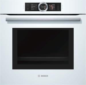 Bosch Backofen mit Mikrowelle Weiß HNG6764W6