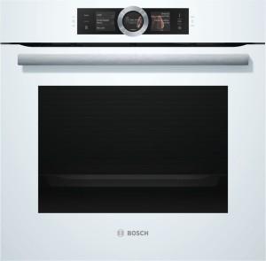 Bosch Dampfbackofen Weiß HSG636BW1