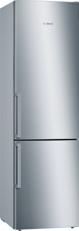 B-Ware Bosch Kühl-/Gefrier-Kombination Türen Edelstahl mit Anti-Fingerprint KGE39EI4P
