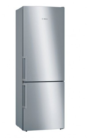 B-Ware Bosch Kühl-/Gefrier-Kombination Türen Edelstahl mit Anti-Fingerprint KGE49EI4P