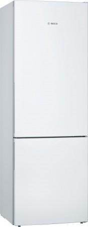Bosch Serie | 4, Freistehende Kühl-Gefrier-Kombination mit Gefrierbereich unten, Weiss KGE49VW4A