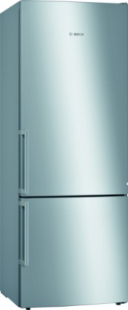 Bosch Stand Kühl-/Gefrier-Kombination Edelstahl mit Anti-Fingerprint KGE58AICP