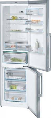 Bosch Kühl-/Gefrier-Kombination Türen Edelstahl mit Anti-Fingerprint KGN39EI4P