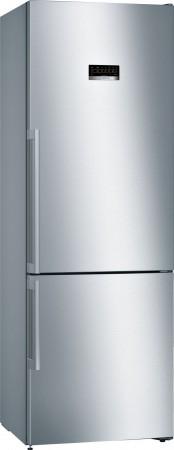 Bosch Freistehende Kühl-Gefrier-Kombination mit Gefrierbereich unten, Weiss KGE49VW4A