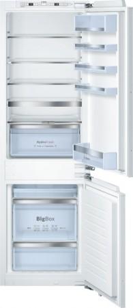 Bosch Einbau-Kühl-/Gefrier-Kombination Flachscharnier KIN85AF30 EEK: A++